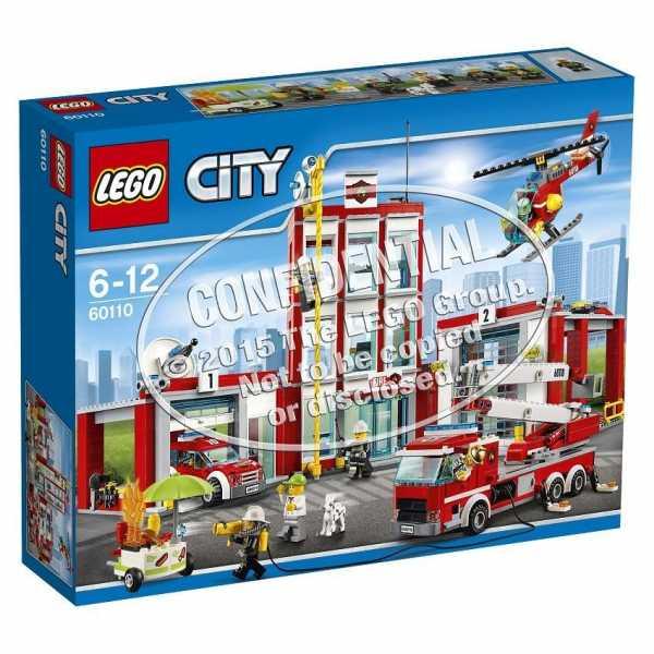 LEGO CITY CASERMA POMP16 (60110)
