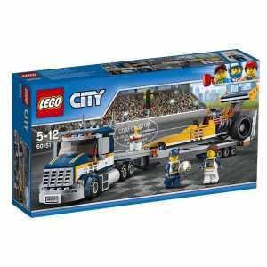 LEGO City 60151 - Great Vehicles Trasportatore Di Dragster