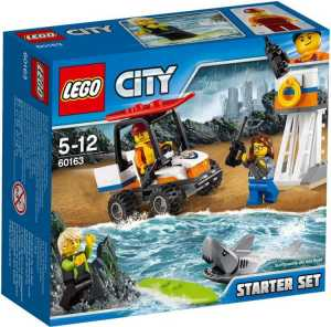 LEGO 60163 - City Coast Guard, Starter Set Guardia Costiera