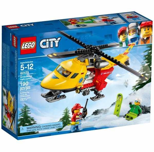Lego City Great Vehicles Eli-Ambulanza,, 60179