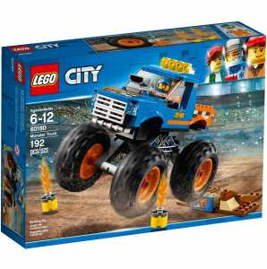Lego City Great Vehicles Monster Truck,, 60180