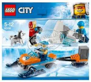 LEGO CITY TEAM DI ESPLORAZIONE ARTICO (60191)