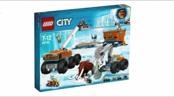 Lego City Base Mobile Di Esplorazione Artica,, 60195