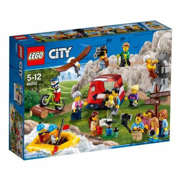 LEGO CITY People Pack - Avventure All'aria Aperta (60202)