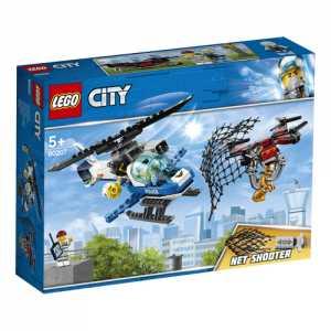 LEGO City - Polizia Aerea All'inseguimento Del Drone, 60207