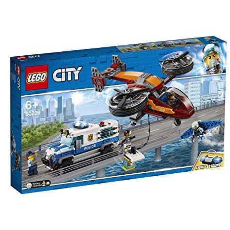 Lego City Polizia Aerea: Furto Di Diamanti Gioco Per Bambini, Colore Vari, 60209