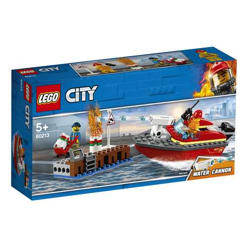 LEGO City - Incendio Al Porto, 60213