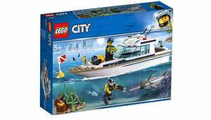 LEGO City - Yacht Per Immersioni, 60221