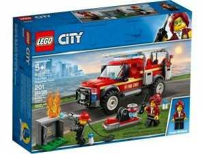 LEGO City Town  -  Gioco Per Bambini Fuoristrada Dei Vigili Del Fuoco, Multicolore, 6251751