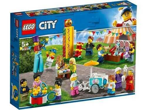 LEGO City Town - Gioco Per Bambini People Pack Luna Park, Multicolore, 6251765