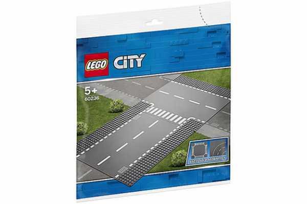 LEGO City - Rettilineo E Incrocio A T, 60236