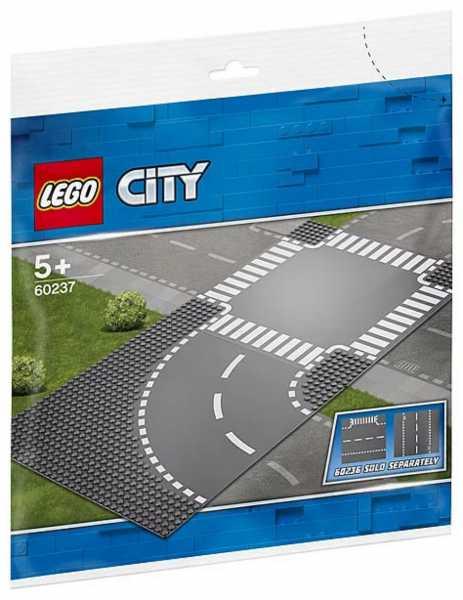 LEGO City - Curva E Incrocio, 60237