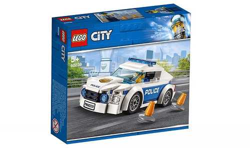 LEGO City - Auto Di Pattuglia Della Polizia, 60239
