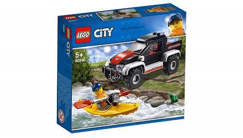 LEGO CITY VEHICLE Avventura Sul Kayak (60240)