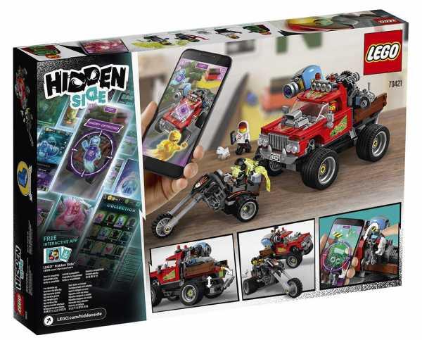 LEGO HIDDEN LO STUNT TRUCK DI EL FUEGO (70421)