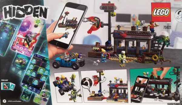 LEGO HIDDEN ATTACCO ALLA CAPANNA DEI GAMBERETTI (70422)