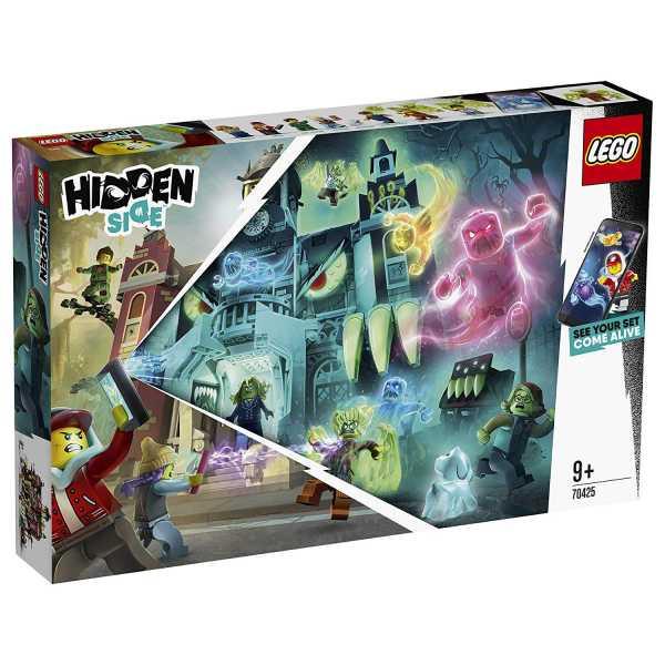 Lego- Hidden Side Il Liceo Stregato Di Newbury Set Di Costruzione, Multicolore, 70425
