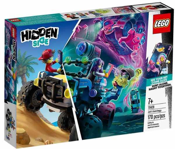 Lego Hidden Side Il Buggy Da Spiaggia Di Jack, Dai La Caccia Ai Fantasmi Nella Realtà Aumentata In Modalità Single O Multiplayer, Multicolore, 70428