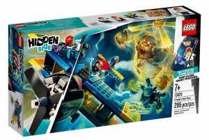 LEGO Hidden Side L'Aereo Acrobatico Di El Fuego, Dai La Caccia Ai Fantasmi Nella Realtà Aumentata In Modalità Single O Multiplayer, Multicolore, 70429