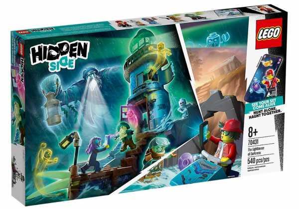 LEGO Hidden Side Il Faro Delle Tenebre, Dai La Caccia Ai Fantasmi Nella Realtà Aumentata In Modalità Single O Multiplayer, Multicolore, 70431
