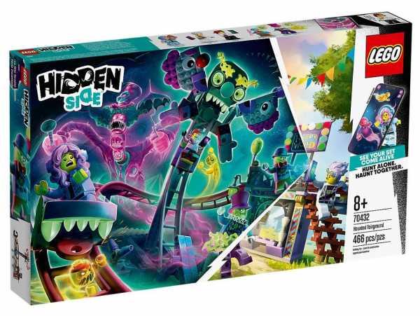 LEGO Hidden Side Il Luna Park Stregato, Dai La Caccia Ai Fantasmi Nella Realtà Aumentata In Modalità Single O Multiplayer, Multicolore, 70432