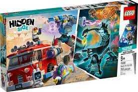 LEGO - Hidden Side Camion Dei Pompieri Phantom 3000, App Per Giochi AR, Playset Multigiocatore Interattivo A Realtà Aumentata Per IPhone/Android, Include 5 Minifigure, Per Ragazzi +8 Anni, 70436