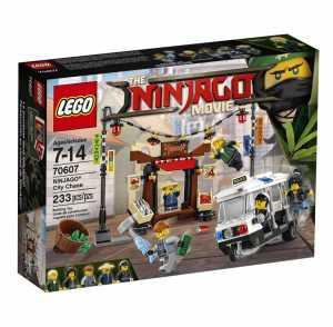 Lego Ninjago - Inseguimento A Ninjago City, 70607