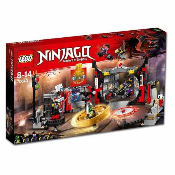 Lego Ninjago (IT) - Quartier Generale S.o.G. , 70640