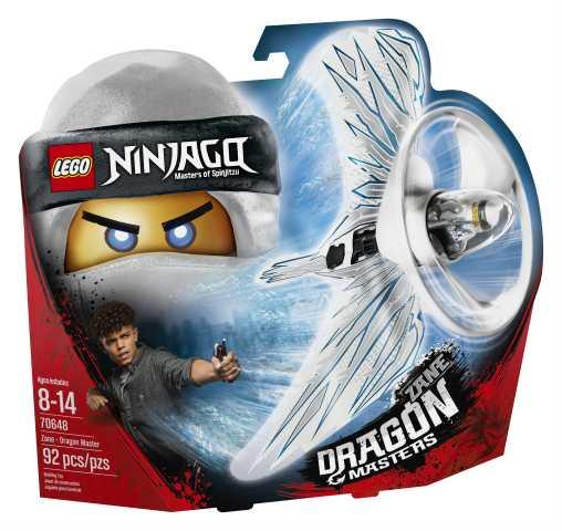 LEGO- Ninjago Zane Maestro Dragone Costruzioni Piccole Gioco Bambina Giocattolo, Multicolore, Taglia Unica, 5702016110821