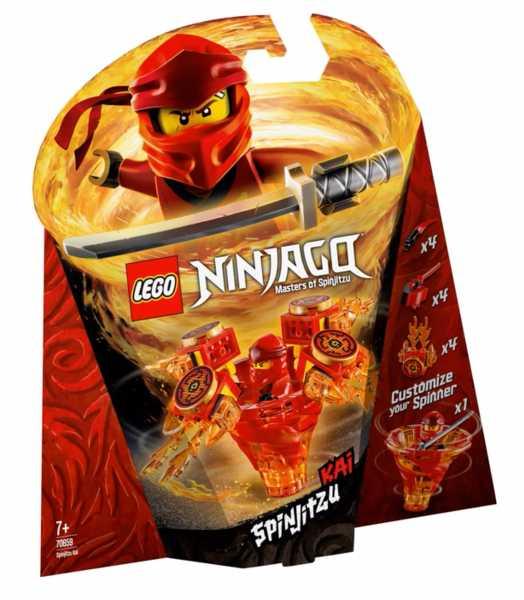 LEGO Ninjago - Kai Spinjitzu, 70659