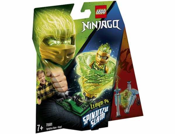 Lego Ninjago - Slam Spinjitzu - Lloyd, 70681