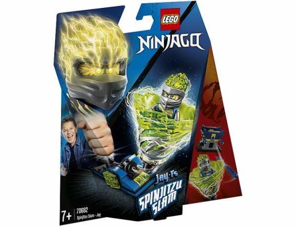 Lego Ninjago - Slam Spinjitzu - Jay, 70682