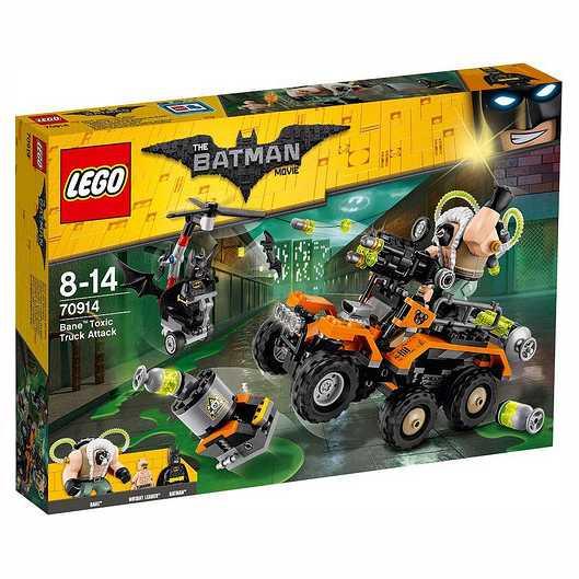 Lego Batman Movie 70914 - L'Attacco Tossico Di Bane