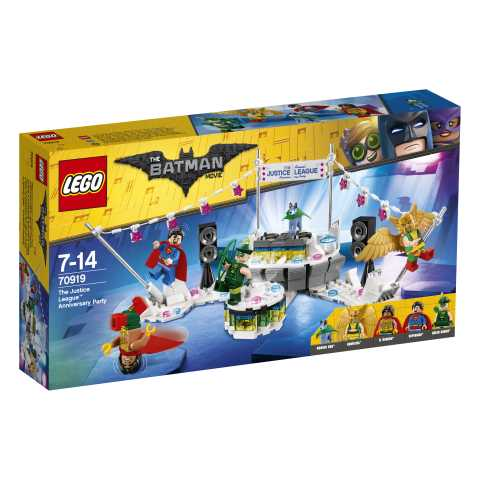 Lego Batman Movie Festa Di Anniversario Della Justice League,, 70919