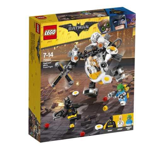 Lego Batman Movie - Egghead Battaglia A Colpi Di Cibo Con Il Mech, 70920