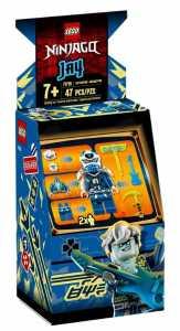 LEGO Ninjago - Avatar Di Jay - Pod Sala Giochi, Con 2 Minifigure Digi Jay Con Arma Di Controllo Principale E Avatar Jay Con Chitarra, Set Di Costruzioni Per Bambini +7 Anni, 71715