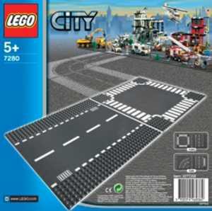 LEGO CITY RETTILINEO E INCROCIO 7280