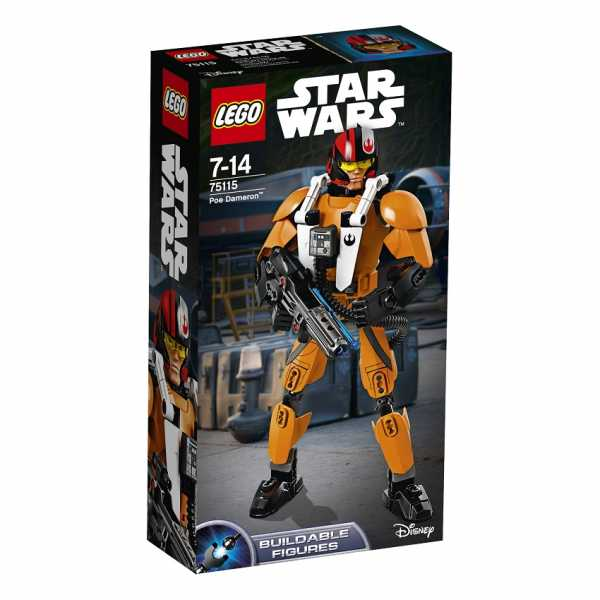 LEGO Star Wars Buildable Figures 75115 - Poe Dameron, 7-14 Anni