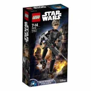 LEGO- Star Wars Sergeant Jyn Erso Costruzioni Gioco Bambina Giocattolo, Multicolore, 75119