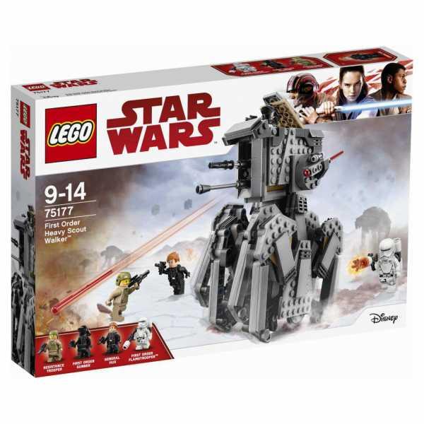 Lego Star Wars - First Order Heavy Scout Walker, 75177
