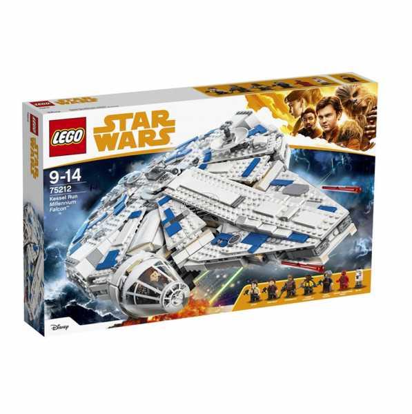 Lego Star Wars TM-Kessel Run Millennium Falcon, 75212, 1414 Pezzi