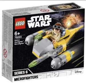LEGO Star Wars - Microfighter Naboo Starfighter, 75223