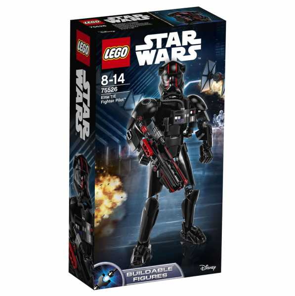 Lego Star Wars 75526 Pilota Elite TIE Fighter