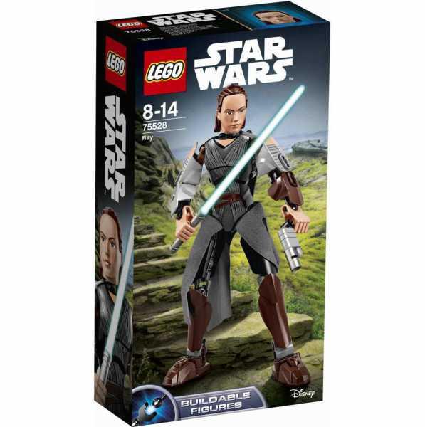 LEGO STAR WARS- Rey, Multicolore, 75528