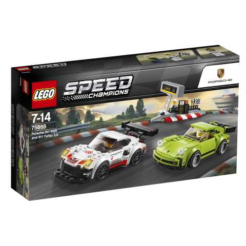Lego Speed Champions Porsche RSR E 911 Turbo 3.0, 75888