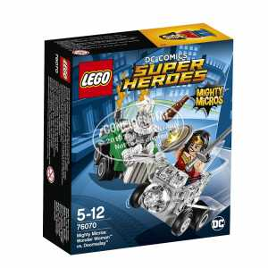 LEGO Super Heroes 76070 - Mighty Micros Wonder Woman Contro Doomsday
