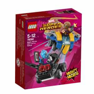 Super Heroes Lego Mighty Micros: Star-Lord Contro Nebula, 76090