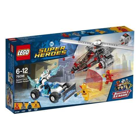 Lego Super Heroes - L'Inseguimento Congelante Della Speed Force, 76098