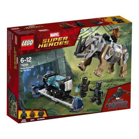 Lego Super Heroes - Rhino Resa Dei Conti Miniera, 76099