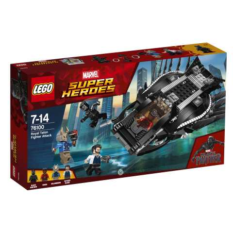 LEGO Super Heroes L'Attacco Del Royal Talon Fighter, 76100